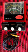 Vintage Snap-on Mt-926 Multimeter- Ohm Volts Dwell And Rpm - Cylinders 4 5 6 8