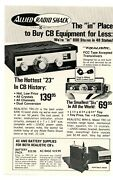 Cq Ham Radio Magazine Print Ad The In Place To Buy Cb Equipment For Less1/71