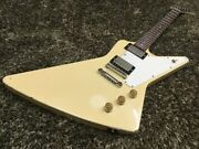 Orville By Gibson Explorer Cw Classic White Made In Japan Mod A1308