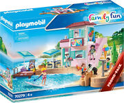 Playmobil Family Fun - Waterfront Ice Cream Shop 70279 For Kids 4 Yrs Old And Up