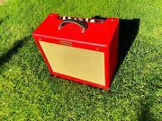 Limited Edition Texas Red Fender Blues Junior