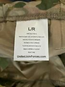 United Join Forces Multicam Mvp Like Goretex Trousers. New With Tags Lge/reg