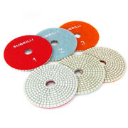 3 Step Diamond Polishing Pads 4 Inch Wet Or Dry For Granite Marble Concrete