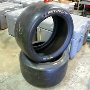 Michelin Radial Slick Road Race Competition 30/65-18 S9h Tire Pair 2x