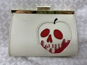 Loungefly X Disney Snow White Just One Bite Poison Apple Wallet Coin Purse
