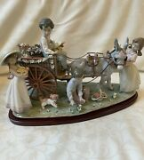 Lladro 1797 Enchanted Outing Limited Edition 223 Out Of 3000 In Mint Condition