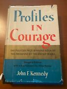 Rare Signed Profiles In Courage Jfk Paperback + White House Photo + Hardcover