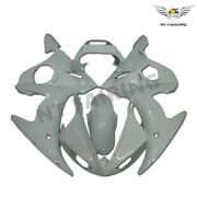 Woo Injection White Mold Fairing Fit For Yamaha 2003-2005and06-09 R6s Yzf R6 E030