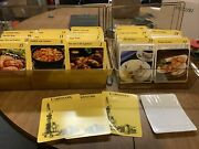 My Great Recipe Card Library Index 2 Lots 1000s Of Recipes Vintage 1980and039s Rare