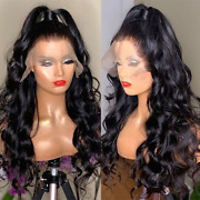Wave Lace Front Human Hair Wigs Pre Plucked Glueless Wavy 13x4 Lace Frontal Wig