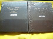 Both Dansco Albums 8113 And 8114 Jefferson Nickels 1938 - 2006- W/ Proofs