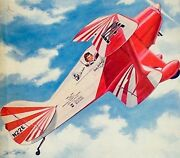 Two Pitts Special Plans + Articles And Scale Documents For A 25 Uc Model Airplane