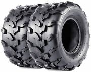 2pack Atv Go-karts 16x8-7 Atv Off-road Tires, Trail And Track, 4 Ply Tubeless