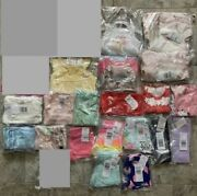 New Lot Of 30 Clothing Items Baby Girl 0-3 Months Clothes