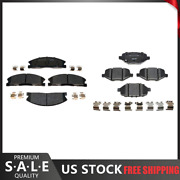 For 2019 Ford Taurus Front And Rear R-line Ceramic Brake Pads - Raybestos