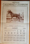 The Horse Review Calendar Of Champions 1920 Harness Racing Champions