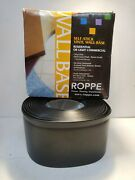 Roppe - Hc40c51s100-028 Black Self-stick Vinyl Wall Base Cover 4 X 20and039