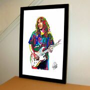 John Frusciante Red Hot Chili Peppers Rock Music Print Poster Wall Art 11x17