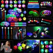 Mibote 70pcs Led Light Up Toys Party Favors Glow In The Dark Party Supplies For