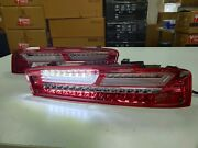 Red Led Rear Lights 2016-2019 Year For Camaro Led Tail Running Turning Lamps