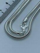 Special Price Sterling Silver 2.5mm Snake Chain 18 / 45cm Chain Ssn2