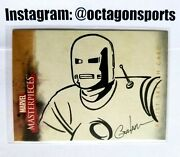2008 Skybox Marvel Masterpieces Iron Man Sketch Card Graham 1/1 Only One