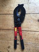 Gmp 75250 Ratcheting Cable Cutter Communications Cable 1800pr/24ga 2700pr/26ga