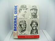 Spink Sporting News 1979 Mlb Baseball Guide Guidry Parker Blue Rice
