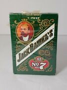 Vintage Jack Daniels Playing Cards No 7 Made In The Usa 6633 Green Pkg