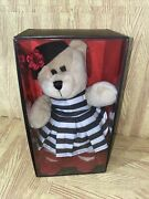 2013 Starbucks Holiday Bearista Bear Alice And Olivia By Stacey Bendet