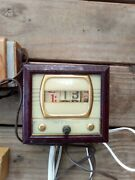 Vintage Electric Clocks And Clock Parts