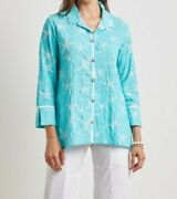 Starfish Swing Shirt By Habitat Button Down Tunic New With Tags Free Shipping