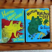 Rare 1954 Error Covers Misprint Horton Hears A Who And Hatches The Egg