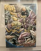 Upper Deck Marvel Guardians Of The Galaxy Sketch Card Size 5andtimes7 In