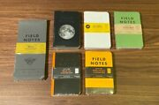 Field Notes Monthly Editions - Sealed - Lunacy Snowblind Shenandoah And More