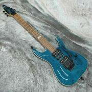 Esp Horizon Tans Blue Made In Japan W/ Floyd Rose St Type Electric Guitar A1346