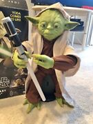 Large Yoda Interactive Train To Be A Jedi 115 Phrases New Robot