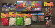 Rubber Band Rainbow Loom Kit + Over 600 Bands Plus 3900 Extra Bands And 26 Clips