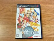 Tales Of The Abyss Playstation 2 Ntsc-j Japan Import