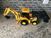 Toy State Industrial Cat Caterpillar Tractor Bucket Moves Makes Sounds