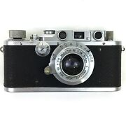 Leica Iiib Dates From 1938 With Russian Lens 50mm F3.5 This Camera Has Been Test