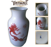 Rare 1947's Antique Original Chinese Vase Germany Meissen Marked Height 35 Cm