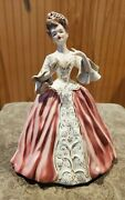 Very Rare Florence Ceramics Figure Denise - Damage To Fan And Finger