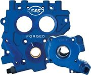 S And S Cycle 310-0731 Tc3 Oil Pump And Cam Support Plate Kit