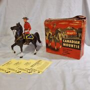 Breyer Vintage Canadian Mountie And Fury Prancer With Box - Nan Qualified Rare