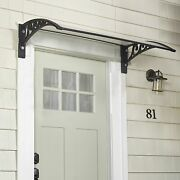 Window Awning Or Front Door Canopy - Snow And Rain Blocker