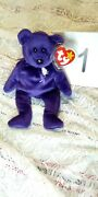 Ty Princess Diana Beanie Baby W/purchase Comes 1 Extra Beanie Baby Surprise