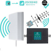Signal Booster 3g 4g Cell Phone Verizon 700/850/1900mhz Band 2/5/13 Voice Data