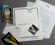 1980s Longines Catalogue Rare Set With Price Guide Watch Swiss