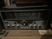 Vintage Hallicrafters Sx-101a Ham Radio Communications Receiver Powers Up